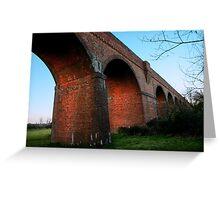 Viaduct Nr Hockley Lights Greeting Card