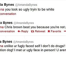 "Amanda Bynes Twitter Quote ""Rihanna"" by giraffes69ing"