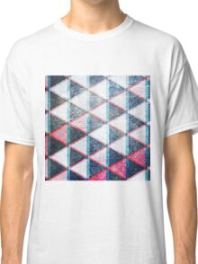 Seeing Double Triangle Design Classic T-Shirt