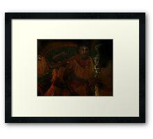 Taino 6 Framed Print