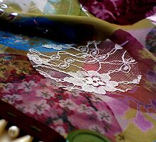 Victoriana decorative fabric by Sarah Martin