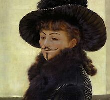 Portrait of Kathleen Anonymous -  James Tissot, 1877 by Devaghost
