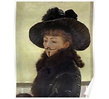 Portrait of Kathleen Anonymous -  James Tissot, 1877 Poster