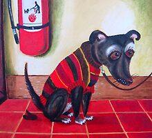 Naughty Dog by Hannah Dosanjh