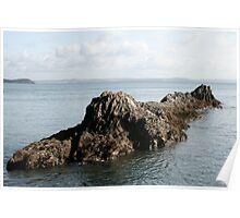 Submarine Rock Poster