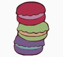 Stacked Macarons by kalkos