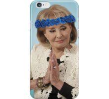 Barbara Walters iPhone Case/Skin