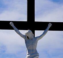 Jesus on the cross 2 by Paul Reay
