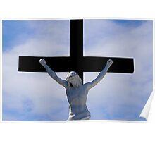 Jesus on the cross 2 Poster