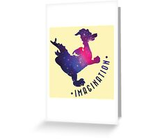 Journey Into Imagination with Figment Greeting Card