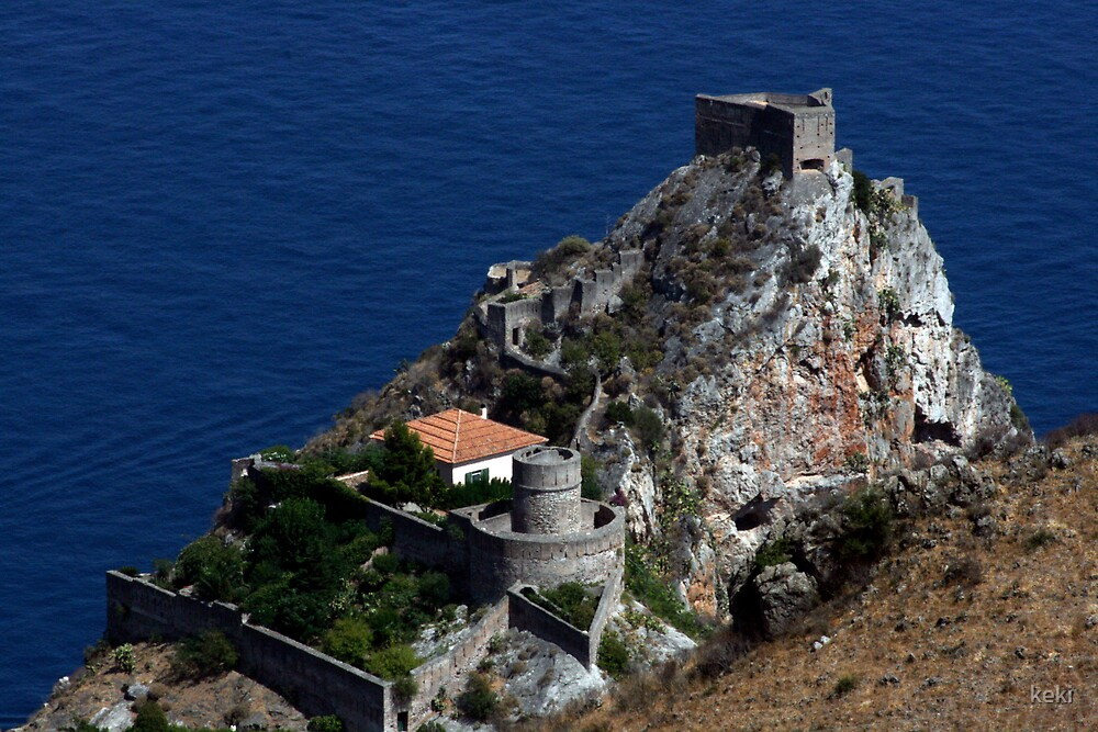 castle in taormina by keki