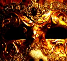 Venetian Mask Sticker