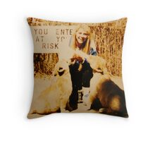 """In The Moment"" Throw Pillow"