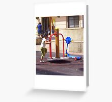 """"""" I,m going to have fun."""" Greeting Card"""