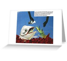 Hands of Heaven and the Hideous Fish Greeting Card