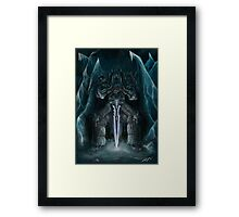 The Lich King Framed Print