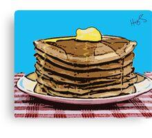 Pop Art Pancakes Canvas Print