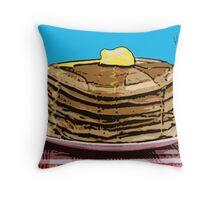 Pop Art Pancakes Throw Pillow
