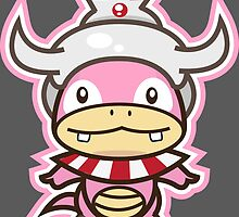 Slowking by Eat Sleep Poke Repeat