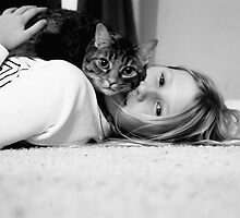 Tessa and Kitty by lorafaye