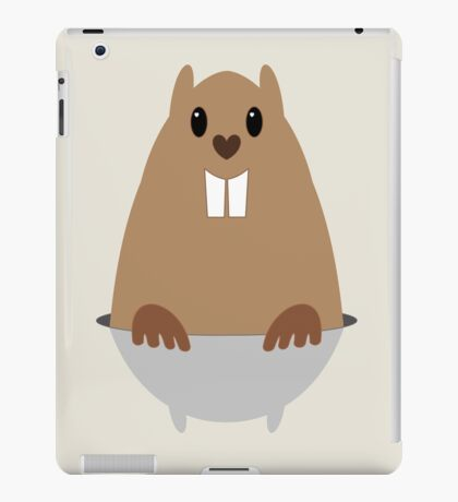 GROUNDHOG & SHADOW iPad Case/Skin