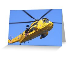 air sea rescue Greeting Card
