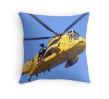 air sea rescue Throw Pillow