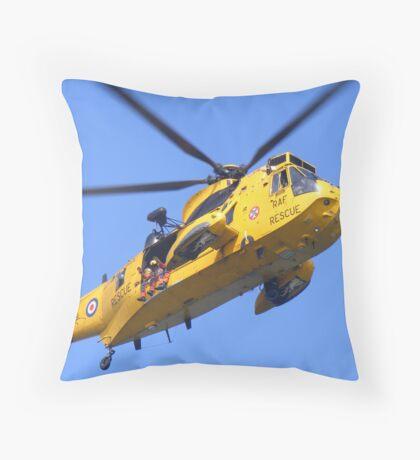 air sea rescue Throw Pillow