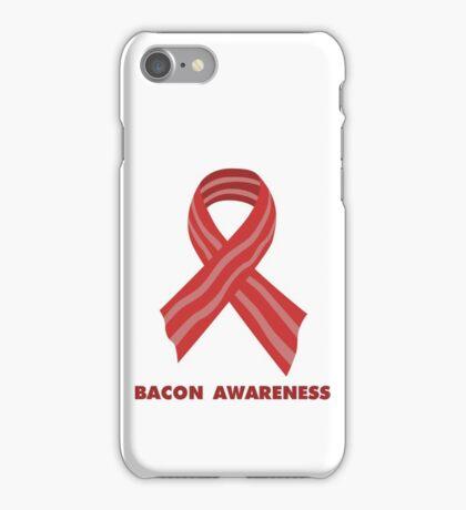 Bacon Awareness iPhone Case/Skin