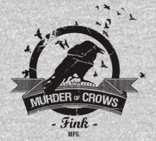 Bioshock Infinite - Murder of Crows Vigor shirt by PirateZomby