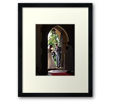 Almost time!! Framed Print