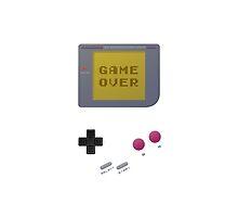 GameBoy Game Over  by brandoff