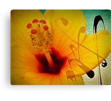 The flower... Canvas Print