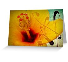 The flower... Greeting Card