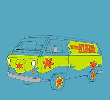 The Scooby Doo Mystery Machine by Martin Lucas
