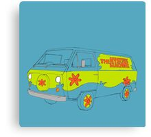 The Scooby Doo Mystery Machine Canvas Print