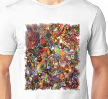 Abstract Original Art Titled; Wild Colors  Unisex T-Shirt