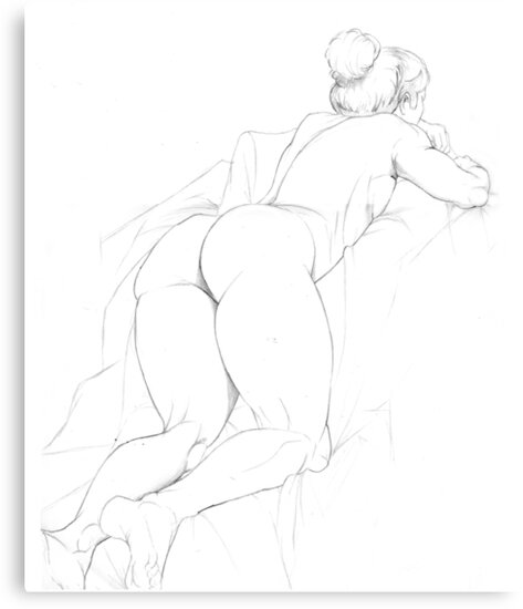 Figure Drawing 1 by Steven Novak