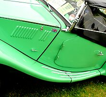 MG classic car by Paul Reay