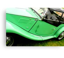 MG classic car Canvas Print