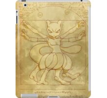 Mewtwovian Man iPad Case/Skin