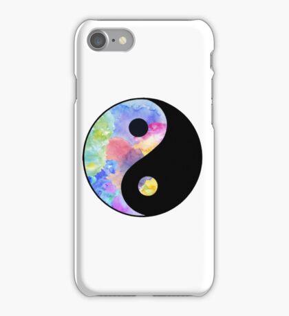 Pastel Ying Yang iPhone Case/Skin