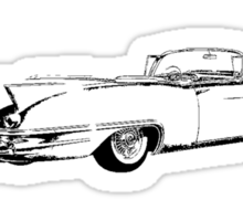 1957 Cadillac Convertible Sticker
