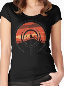 The Unlimited Bladeworks Women's Fitted Scoop T-Shirt