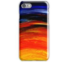 Colorful Abstract Painting Original Art Titled: Morning Glory iPhone Case/Skin