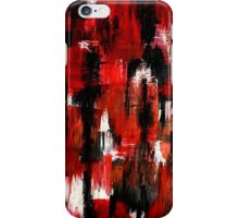 Colorful Abstract Painting Original Art Titled: Walking Dead iPhone Case/Skin