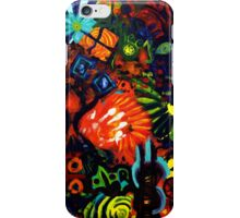 Colorful Abstract Painting Original Art Titled: Child Graffiti  iPhone Case/Skin