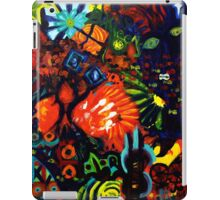 Colorful Abstract Painting Original Art Titled: Child Graffiti  iPad Case/Skin