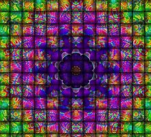Colour Weave-Available As Art Prints-Mugs,Cases,Duvets,T Shirts,Stickers,etc by Robert Burns