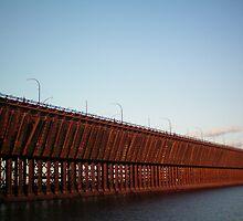 Mn Lake Superior ship yards! by Diane Trummer Sullivan